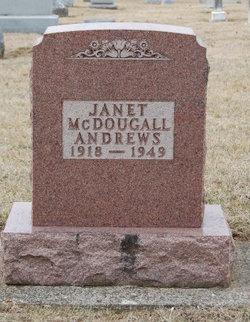 Janet <i>McDougall</i> Andrews