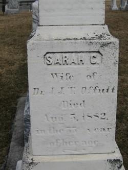 Sarah Caudy <i>Nixon</i> Offutt