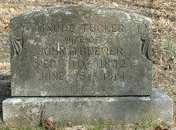 Maude <i>Tucker</i> Brewer