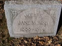 Jane M. <i>O'Hanlon</i> Kirk