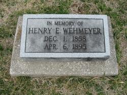 Henry E. Wehmeyer