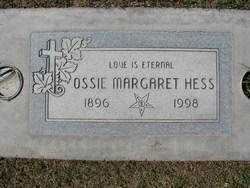 Ossie Margaret Hess