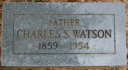 Charles Samuel Watson
