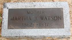 Martha Jane <i>Howell</i> Watson