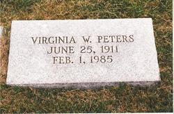 Virginia Stonetta Whitie <i>White</i> Peters