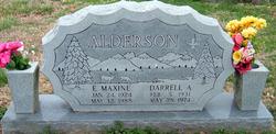 Edith Maxine <i>Arthurs</i> Alderson