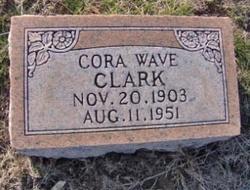 Cora Wave <i>Summers</i> Clark