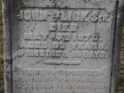 John Flick, Sr