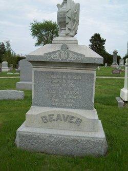 Eliza C <i>Preston</i> Beaver