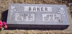 Hilma Hildagard <i>Nelson</i> Baker