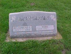 Rev Edmund Erwin Baumgarten
