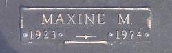 Maxine Melva <i>Burroughs</i> Williams