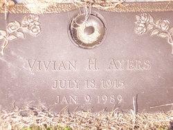 Vivian H Ayers