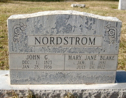 Mary Jane <i>Blake</i> Nordstrom