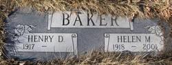 Helen Marie <i>Burkett</i> Baker