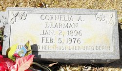 Cornelia A Dearman