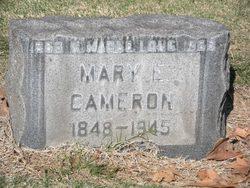 Mary E Cameron