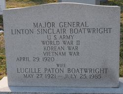 Lucille <i>Paton</i> Boatwright