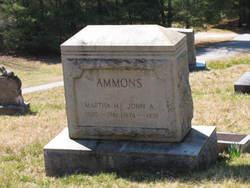Martha H. <i>Heaton</i> Ammons