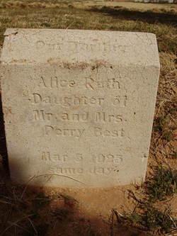 Alice Ruth Best