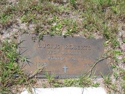 PFC Lucius Roberts