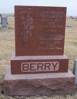 Pvt Edwin Nuel Stone Berry