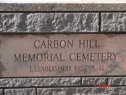 Carbon Hill Memorial Cemetery