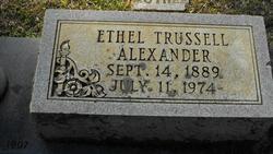 Ethel Julia <i>Trussell</i> Alexander