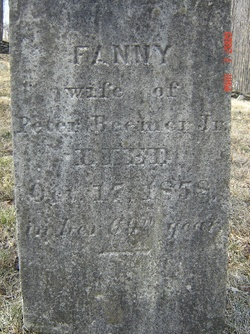 Fanny Phebe <i>Courtright</i> Beemer
