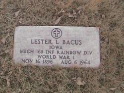 Lester Lloyd Bacus
