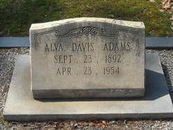 Alva Davis Adams