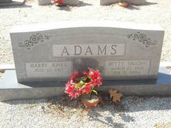 Betty <i>Vaughn</i> Adams
