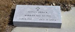 Zesta Lee <i>Taylor</i> Arbuck