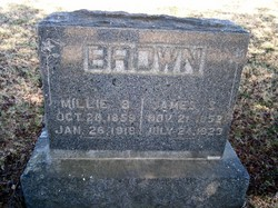 Millie Behethlin <i>Cheatham</i> Brown