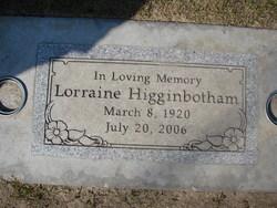 Lorraine <i>Hope</i> Higginbotham