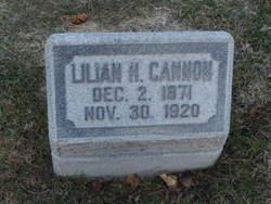 Lilian <i>Hamlin</i> Cannon