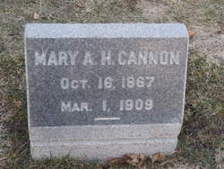 Mary Alice Hoagland <i>Cannon</i> Cannon