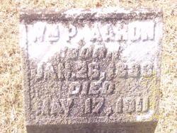 William P Aaron