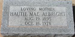 Hautie Mae <i>Loyd</i> Albright
