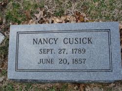 Nancy Colville <i>Evans</i> Cusick