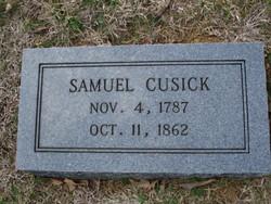 Samuel Cusick