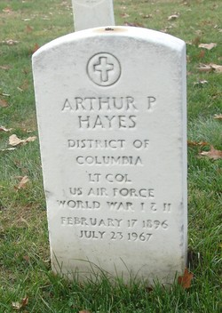 LTC Arthur P. Hayes
