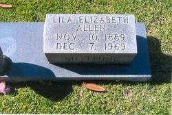 Delilah Elizabeth <i>Culpepper</i> Allen