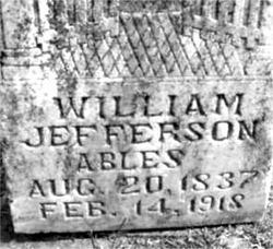William Jefferson Ables