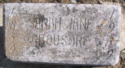 Sarah Jane Elizabeth <i>Amerman</i> Crousore