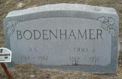 Emma Josephine <i>Bowman</i> Bodenhamer