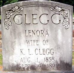 Lenora <i>Jackson</i> Clegg