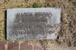 Maggie <i>Robbins</i> Armstrong