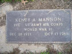 Kenzy A. Mannon