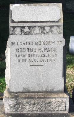 Corp George Radd Pace